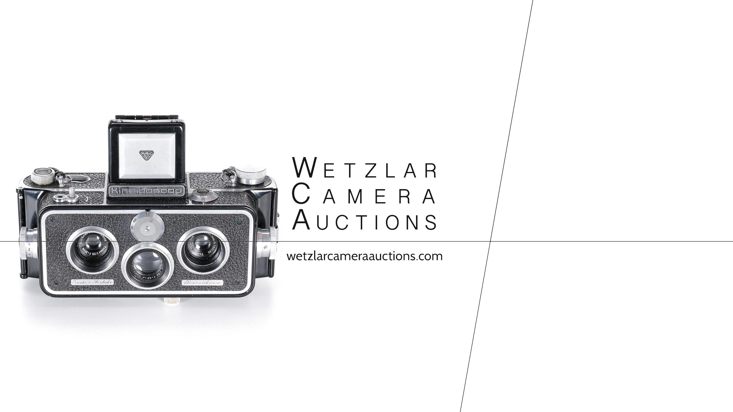 Wetzlar Camera Auctions - Rollei Stereo Kineidoscop 35 mm Prototype - October 09th 2021