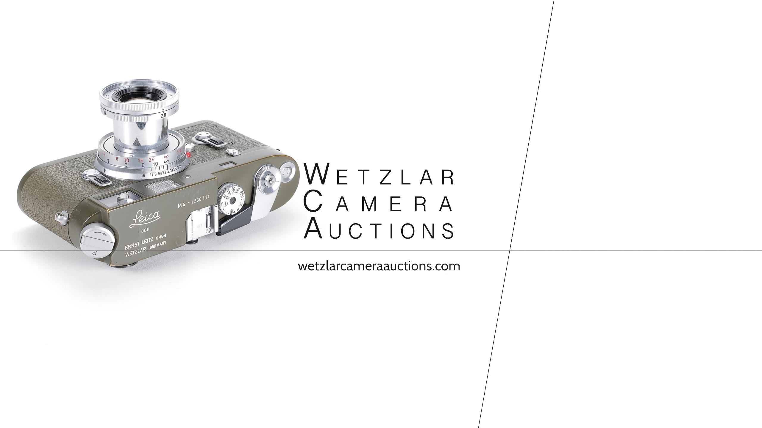 Wetzlar Camera Auctions - Leica M4 Olive