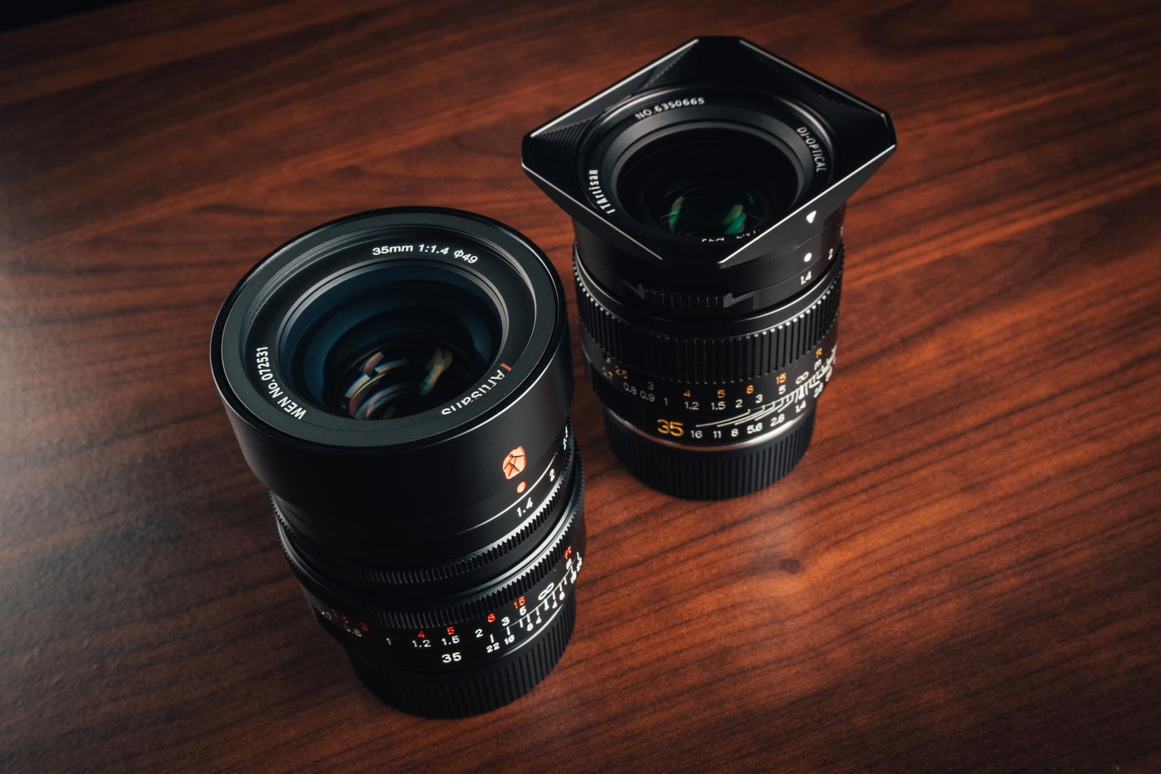 7Artisans & TTArtisan 35 mm f 1.4 for Leica M Review - Christian Doffing
