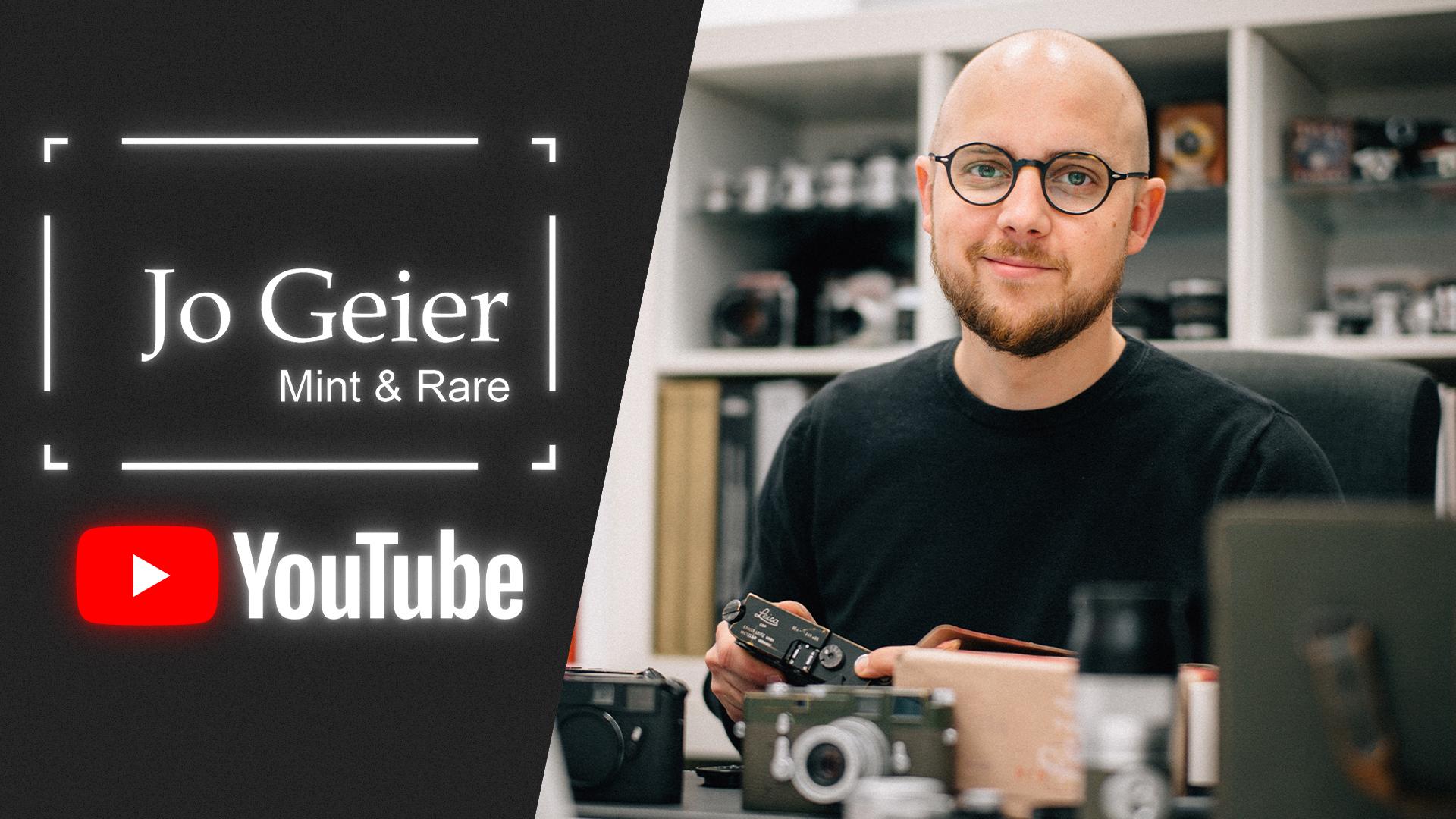 Now on YouTube - Jo Geier