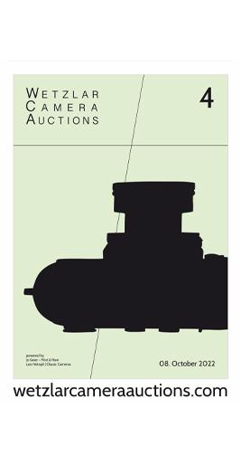 Wetzlar Camera Auction